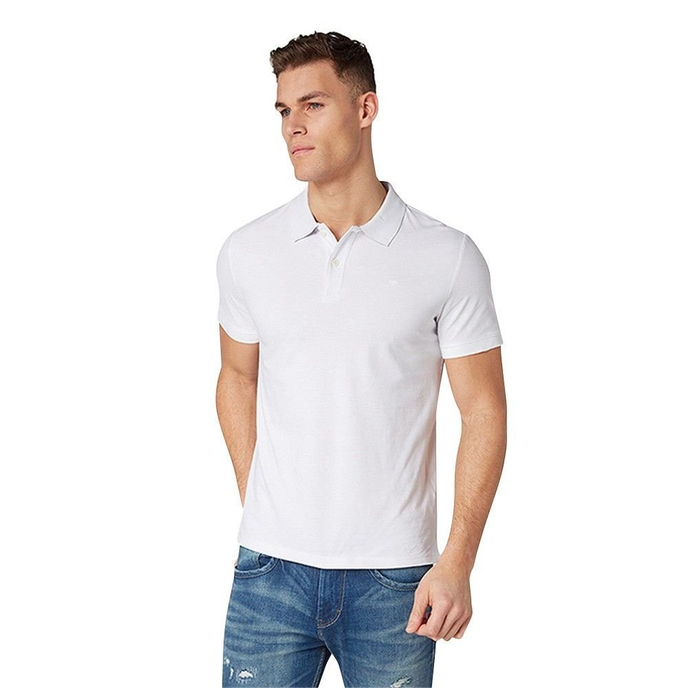 Tom Tailor Tom Tailor - Heren Polo - Wit