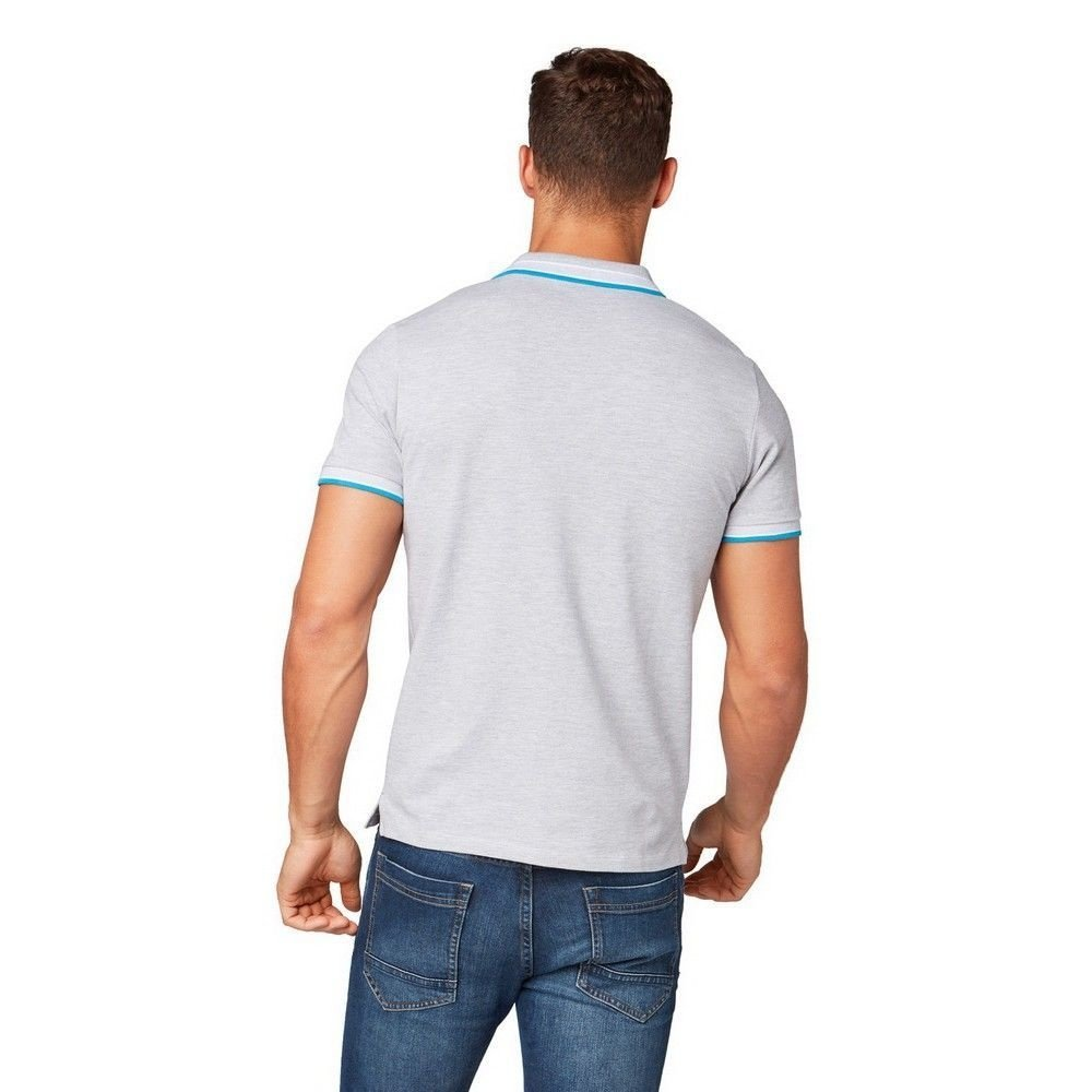 Tom Tailor Tom Tailor - Heren Polo - Stone Grey