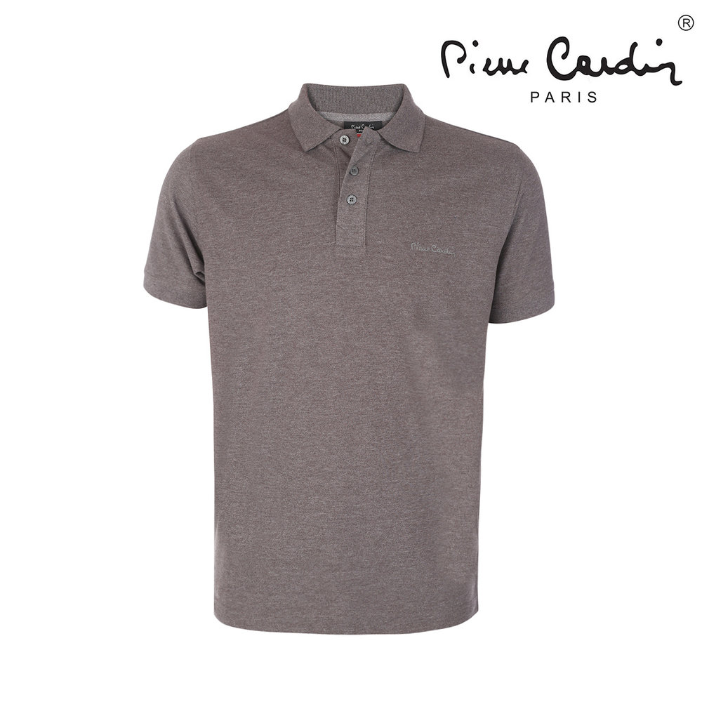 Pierre Cardin Pierre Cardin - Heren Polo - Paris - Antraciet