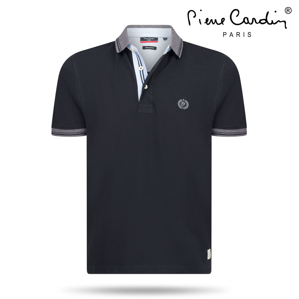 Pierre Cardin Pierre Cardin - Men's Polo - Lyon - Black