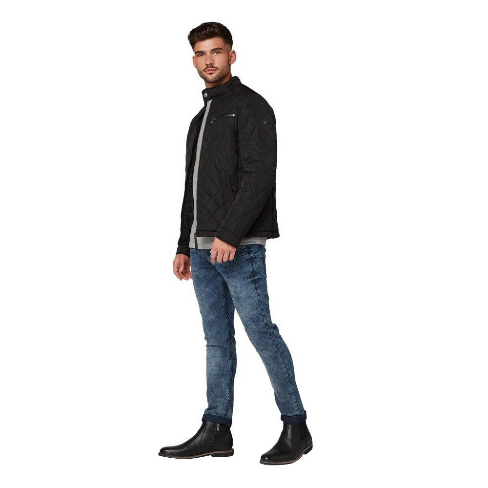 Tom Tailor Denim  Tom Tailor - Veste rembourrée - Noir