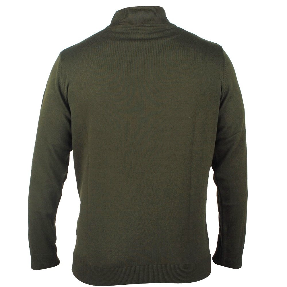 New Republic  Enrico Polo - Heren pullover met ronde hals - Army