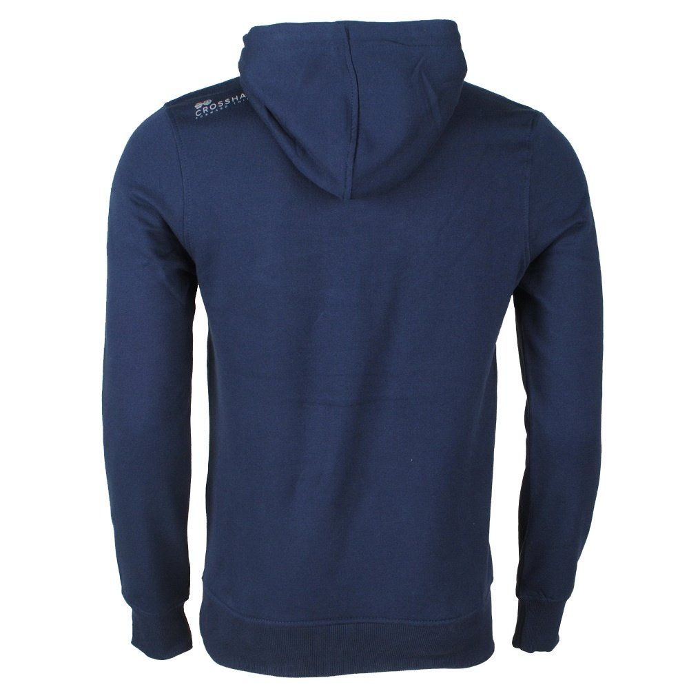 Crosshatch CrossHatch - Hoodie - Sweat - Model Flatleys - Navy