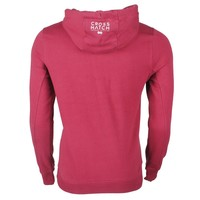 Crosshatch CrossHatch - Pull pour homme - Sweat - à capuche - CH Hoody - Rouge