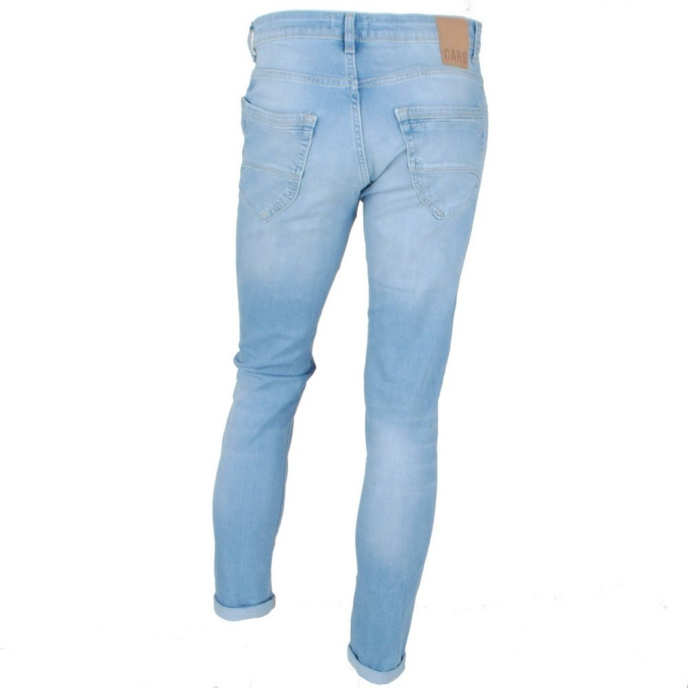 Cars Jeans Cars Jeans - Heren Jeans - Slim Fit - Stretch - Lengte 36 - Blast - Blue Used