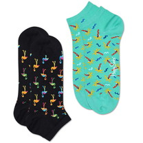 Happy Socks  Happy Socks - Flamingo - 2-pack - Low Socks