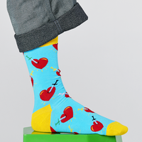 Happy Socks  Happy Socks - Broken Heart - Blauw