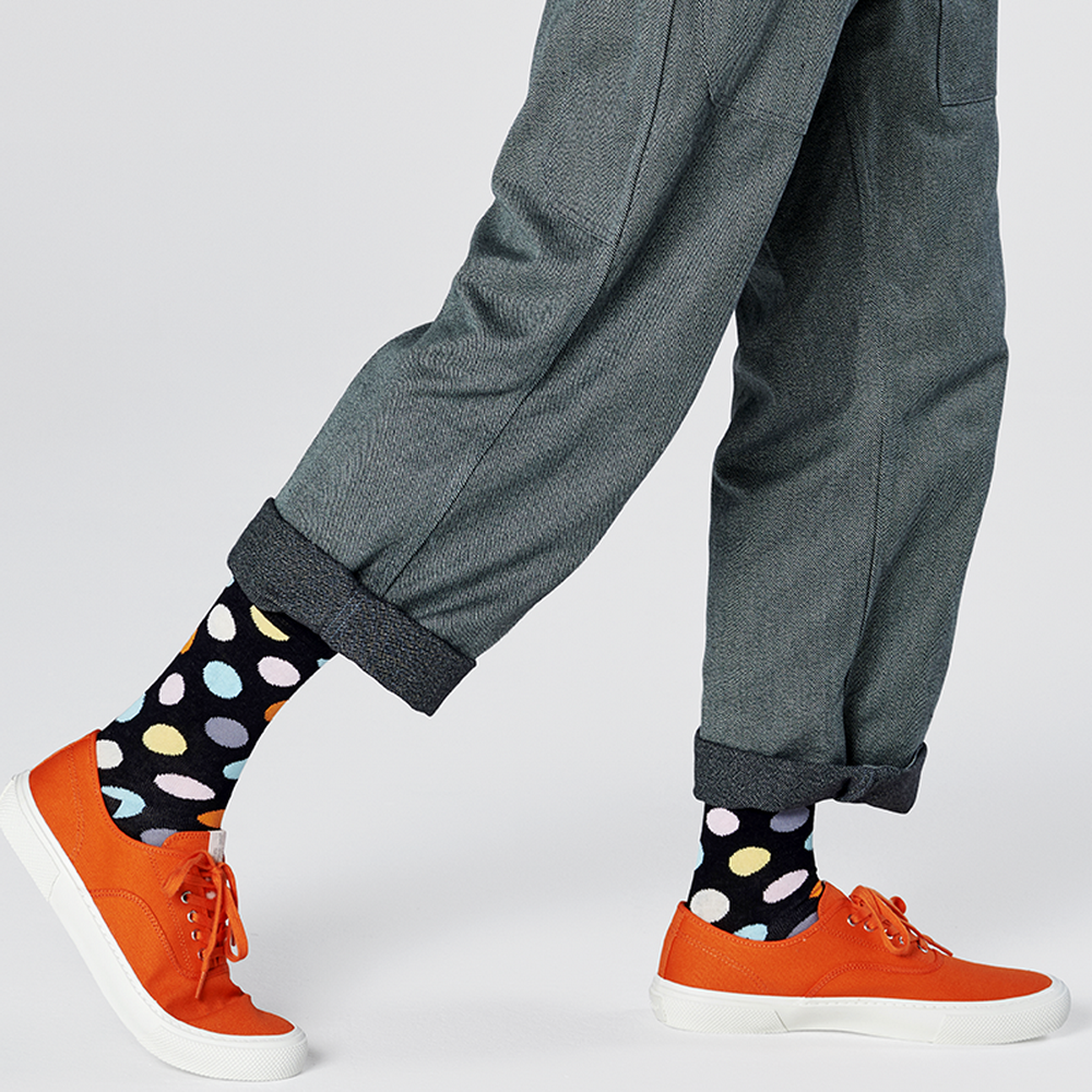 Happy Socks  Happy Socks - Big Dot - Noir