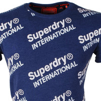 Superdry Superdry - T-Shirt pour homme - International - Navy