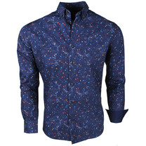Montazinni Jan Paulsen - Chemise Design Homme - Regular Fit