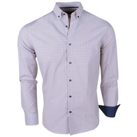 Montazinni Jan Paulsen - Chemise Design Homme - Regular Fit - Bleu