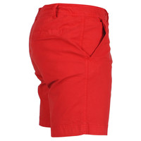 Brams Paris Brams Paris - Chino Short pour homme - Stretch - Huub - Rouge