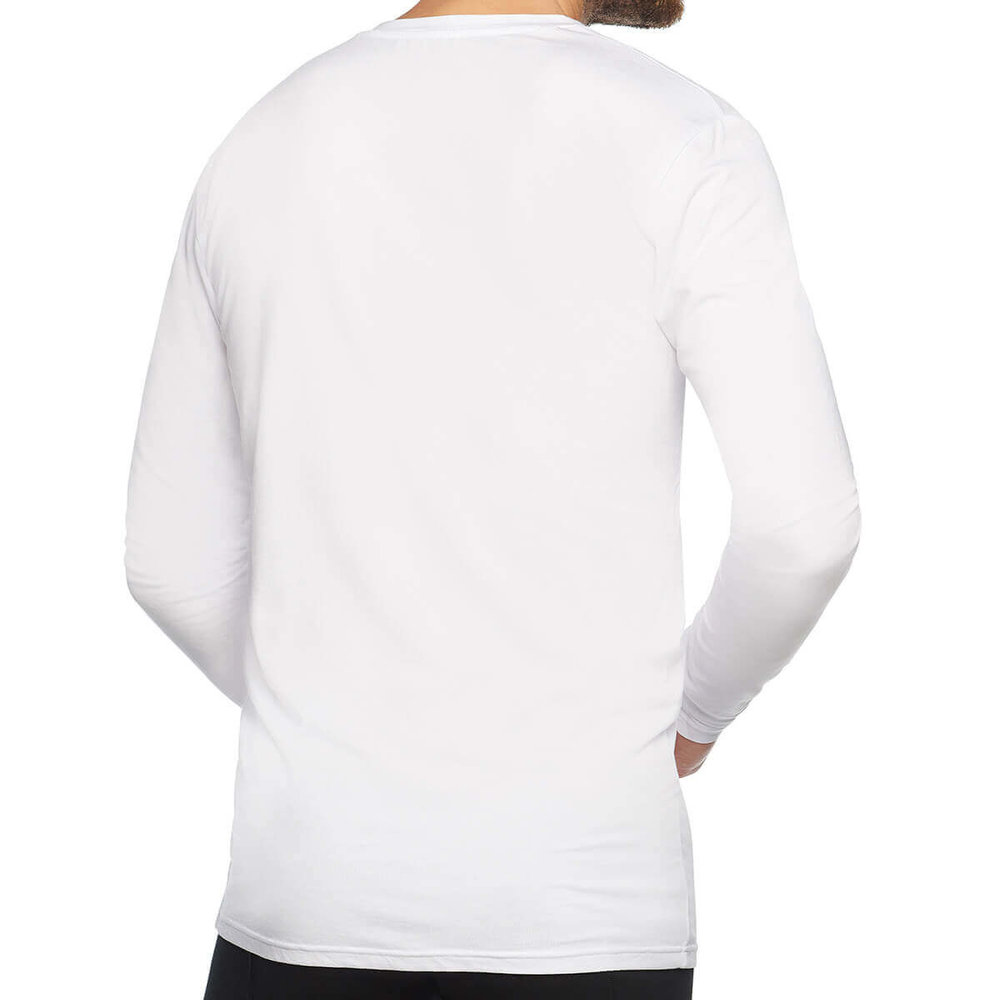 Bamboo Basics Bamboo Basics - Men's T-Shirt - V neck - White