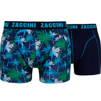 Zaccini Zaccini - 2-Pack Boxer Shorts - Palm