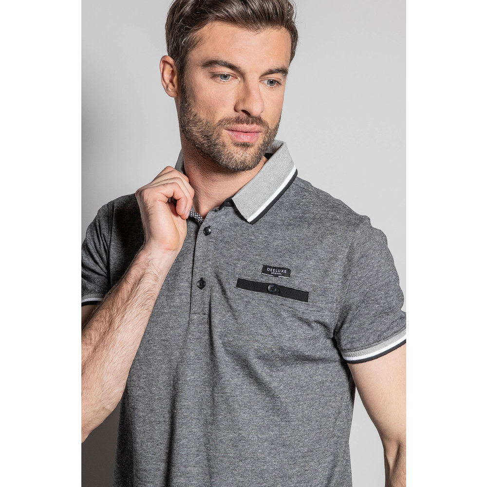 Deeluxe Deeluxe - Men's Shirt - Drexler - Grey