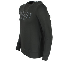 Ballin Ballin - Men`s Sweater with relief print - Army green