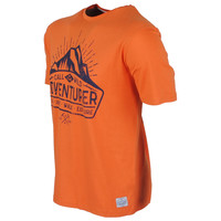 New Republic New Republic - Heren T-Shirt - Bashaw - Oranje
