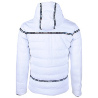 Deeluxe Deeluxe - Men's Winter Jacket - Hooded - Holyson - White
