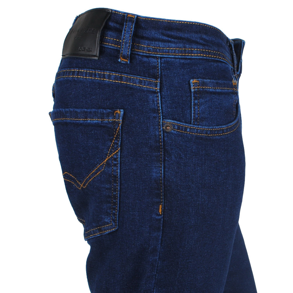 New Republic New Republic - Heren Jeans - Blue Game - Lengte 32 - Stretch - Donker Blauw
