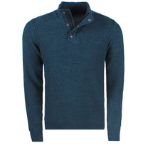 Twinlife  Twinlife - Pull pour homme - Vert / Marine