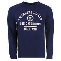Twinlife  Twinlife - Heren Sweater - Navy