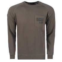 Superdry Superdry Men`s Crew Sweatshirt - Surplus Goods - Green