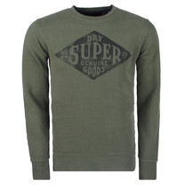 Superdry Superdry Men`s Crew Sweatshirt - Workwear - Green
