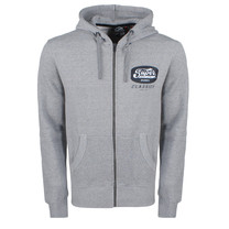 Superdry Superdry Men`s Zip Hoodie - Mono LC - Grey