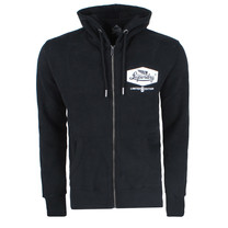 Superdry Superdry Men`s Zip Hoodie - Mono - Black