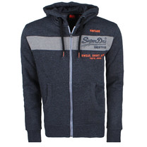 Superdry Superdry Cardigan pour Homme - Magma Panel - Gris