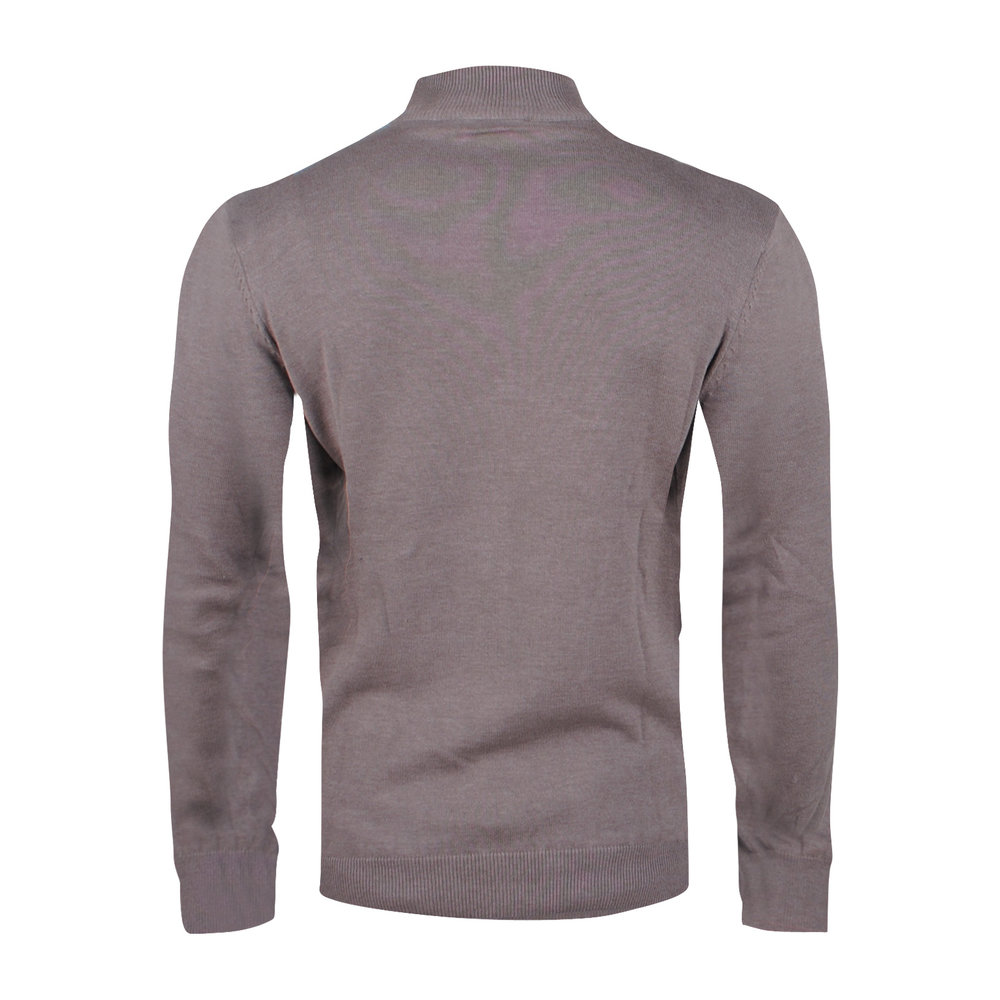 Ferlucci Ferlucci – Exlusive Men`s Pullover with Turtleneck  - Light brown