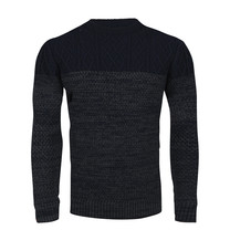 Ferlucci Ferlucci - Pull a exclusif pour homme - Grosse Maille - Fredo - Navy