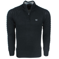 MZ72 MZ 72 - Men's sweater - Heavy knitted - Black