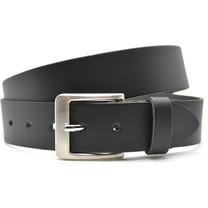 Timbelt Timbelt - Men's belt - 4 CM - 100% Leather - Model number 443 - Black