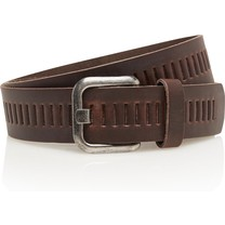 Timbelt Timbelt - Men's belt - 4 CM - 100% Leather - Model number 427 - Brown
