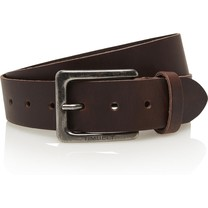 Timbelt Timbelt - Men's belt - 4 CM - 100% Leather - Model number 421 - Brown