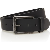 Timbelt Timbelt - Men's belt - 4 CM - 100% Leather - Model number 421 - Black