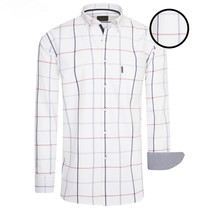 Cappuccino Cappuccino - Men's Shirt – Chest Pocket – Allover Design – White