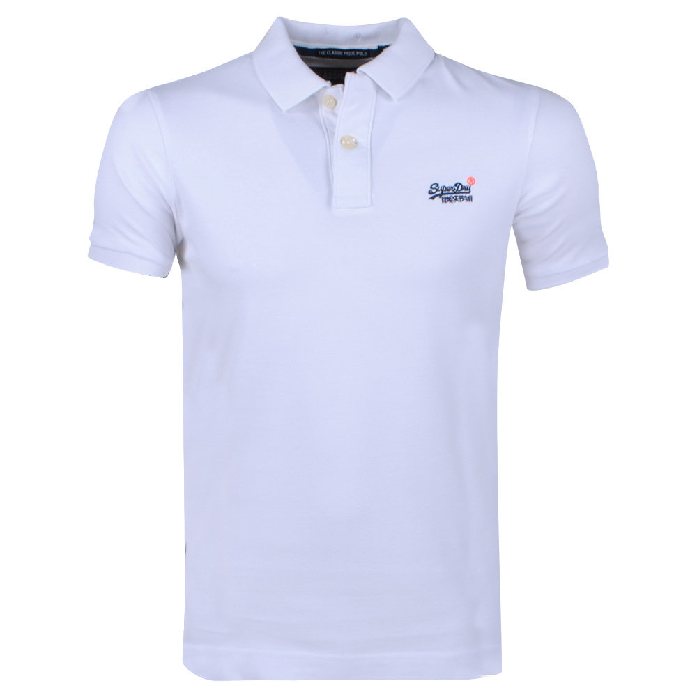 Superdry Superdry - Heren Polo - Pique - Wit