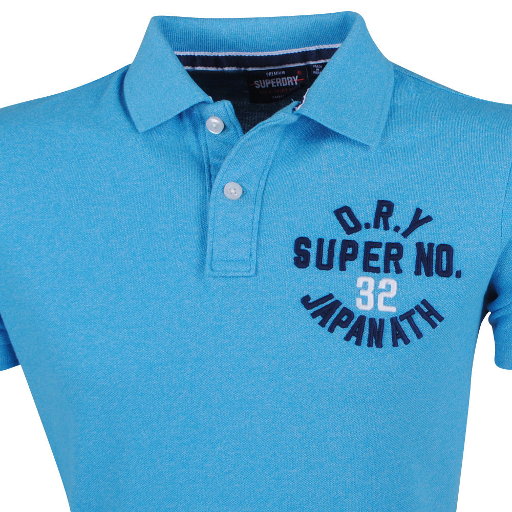 Superdry Superdry - Heren Polo - Superstate - Blauw