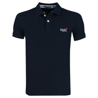 Superdry Superdry - Heren Polo - Pique - Navy