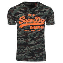 Superdry Superdry - Men's T-Shirt - Camo - Army