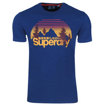Superdry Superdry - Homme T-Shirt -  Wilderness - Navy