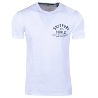 Superdry Superdry - Heren T-Shirt - Graphic - Wit