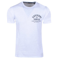 Superdry Superdry - Homme T-Shirt -  Graphic - Blanc