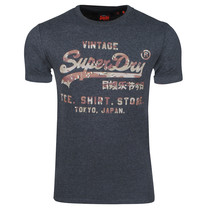 Superdry Superdry - Homme T-Shirt - VL Tee - Gris