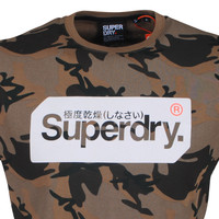 Superdry Superdry - Heren T-Shirt - Core Logo - Army