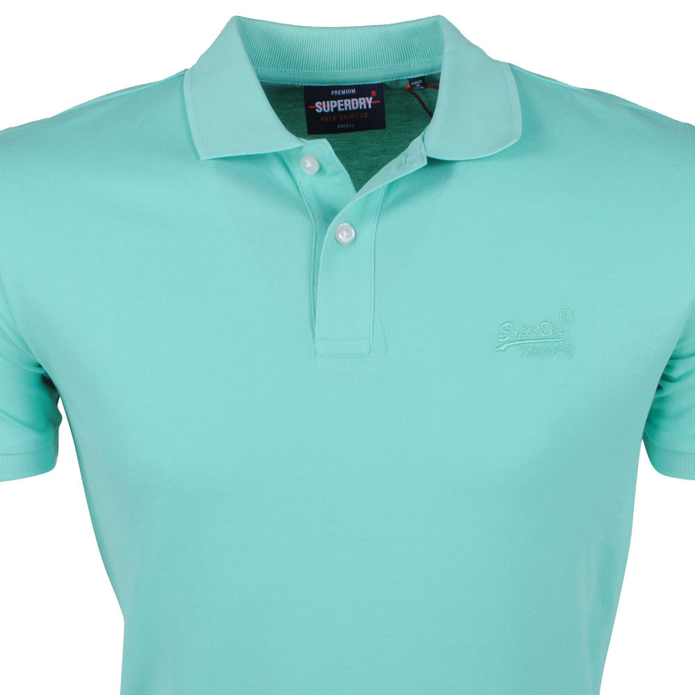Superdry Superdry - Heren Polo - Awesome - Mint
