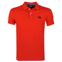 Superdry Superdry - Polo Homme - Pique - Rouge