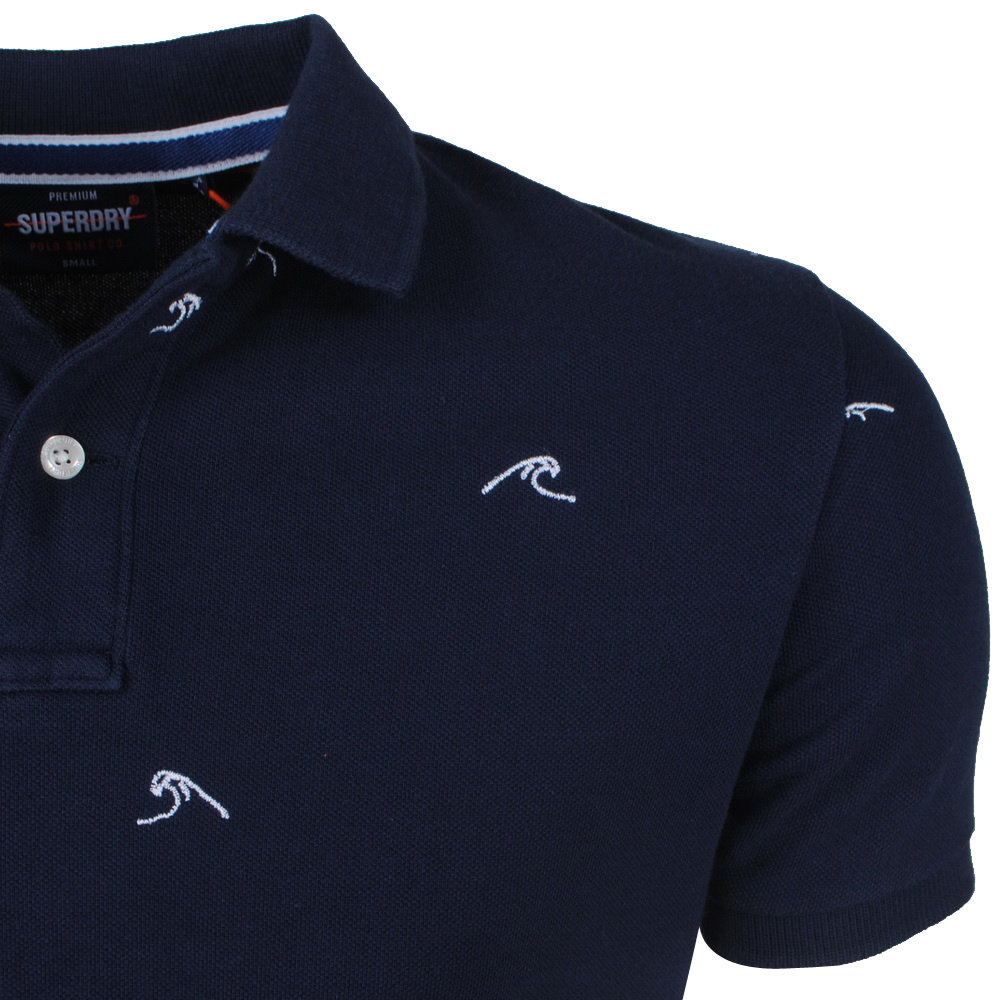 Superdry Superdry - Polo Homme - Tiki - Navy
